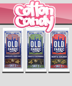 Cotton Candy Old Fabric Salt 120ml