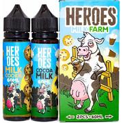 Heroes Milk Farm 120мл (3мг) - Жидкость для Электронных сигарет