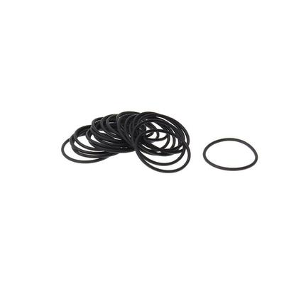 Силиконовое уплотнительное кольцо 18мм / 1мм (Оринг, O-ring)