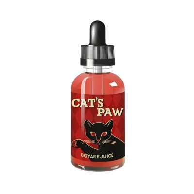 Жидкость для Электронных сигарет BOYAR Cats Paw 30мл (3мг)