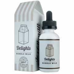 Milkman Delights Bubble Milk 60мл (3мг) - Жидкость для Электронных сигарет (Clone)
