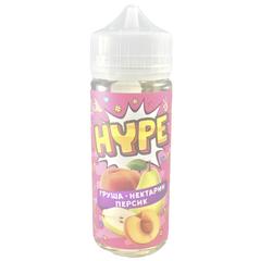 Hype Груша, Нектарин, Персик 120мл (3мг) - Жидкость для Электронных сигарет