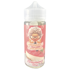 Grandma's Cheesecake Strawberry 120мл (3мг) - Жидкость для Электронных сигарет
