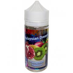 Malaysian Dream Pomegranate Explosion 100мл (3мг) - Жидкость для Электронных сигарет