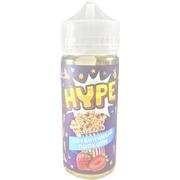 Hype Клубничный Попкорн 120мл (3мг) - Жидкость для Электронных сигарет