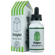 Milkman Delights Melon Milk 60мл (3мг) - Жидкость для Электронных сигарет (Clone)