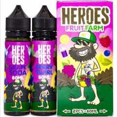 Heroes Fruit Farm 120мл (3мг) - Жидкость для Электронных сигарет