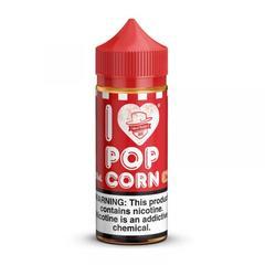 I Love Popcorn 100ml (3мг) - Жидкость для Электронных сигарет