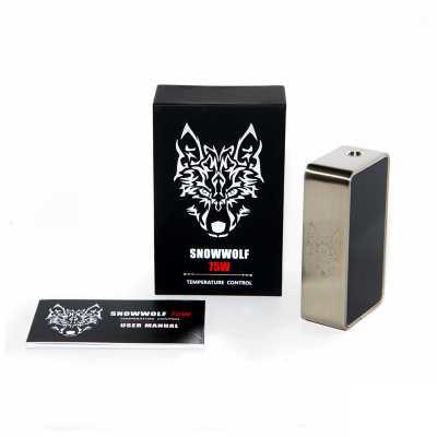 Боксмод Snow Wolf 75w + TC (Стальной)