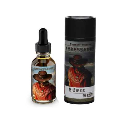 Жидкость для Электронных сигарет Ambassador West 30мл (3мг)
