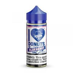 I Love Donuts - Blueberry 100ml (3мг) - Жидкость для Электронных сигарет