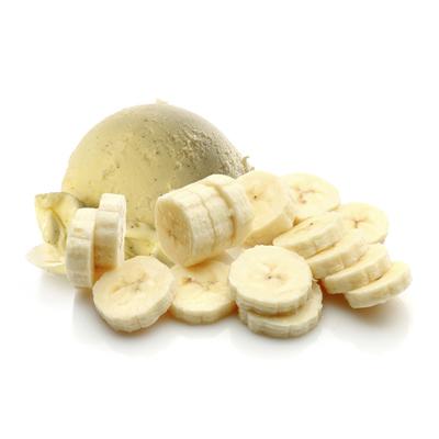 Жидкость для Электронных сигарет Iroks Banana Ice Cream 30мл (0мг)