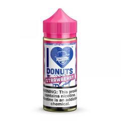 I Love Donuts - Strawberry 100ml (3мг) - Жидкость для Электронных сигарет