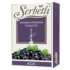Serbetli Acai 50г - Табак для Кальяна