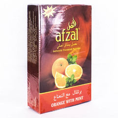 Afzal Orange with Mint 50г - Табак для Кальяна