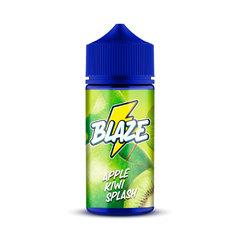 BLAZE Apple Kiwi Splash 100ml (0мг) - Жидкость для Электронных сигарет
