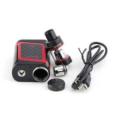 SmokTech Smok AL85 + TFV8 Baby Beast (Стартовый набор) (Черный, Красный)