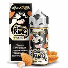 Dairy King Almond Milk 100мл (3мг) - Жидкость для Электронных сигарет