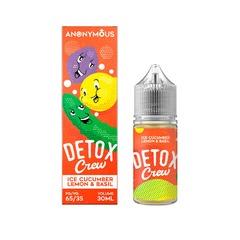 Anonymous Salt Detox Crew 30мл (20) - Жидкость для Электронных сигарет