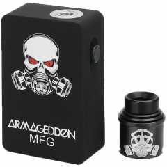 Apocalypse Armageddon Squonker (Стартовый набор) (Черный) (Clone)