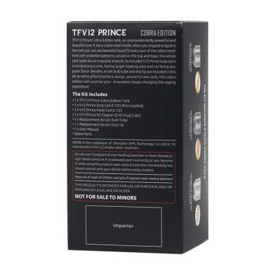 Атомайзер SmokTech SMOK TFV12 Cobra Edition (Черный)
