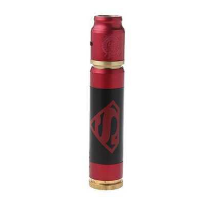 Механический Мод Avid Lyfe Able Super Man + Battle Deck RDA (Черный, Красный) Clone
