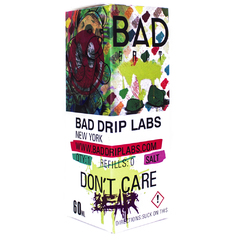 Bad Drip Salt Dont Care Bear 60мл (25мг) - Жидкость для Электронных сигарет (Clone)