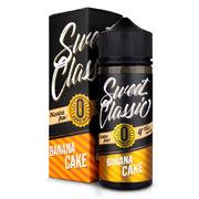 Sweet Classic Banana Cake 120мл (0) - Жидкость для Электронных сигарет