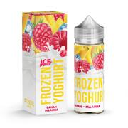 Frozen Yoghurt Банан - Малина 120мл (0) - Жидкость для Электронных сигарет
