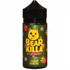 Bear Killa Raspberry 100мл (0мг) - Жидкость для Электронных сигарет