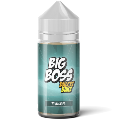 Big Boss Dulcet Bake 120мл (3мг) - Жидкость для Электронных сигарет