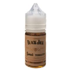Black Jack Salt Sweet Tobacco 30мл (25мг) - Жидкость для Электронных сигарет