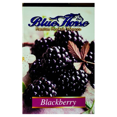 Blue Horse Blackberry 50г - Табак для Кальяна