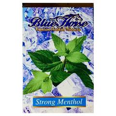 Blue Horse Strong Menthol 50г - Табак для Кальяна