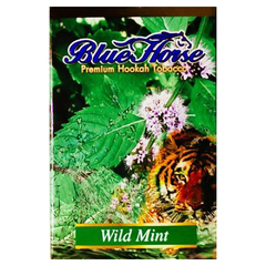 Blue Horse Wild Mint 50г - Табак для Кальяна