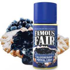 Famous Fair Blueberry Funnel Cake 100мл (3мг) - Жидкость для Электронных сигарет