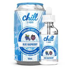 Chill Blue Raspberry 60мл (3мг) - Жидкость для Электронных сигарет