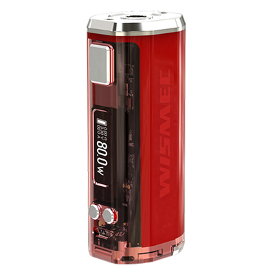 Боксмод Wismec Sinuous V80 80W (Красный)