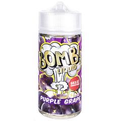 Bomb! Purple Grape 120мл (3мг) - Жидкость для Электронных сигарет