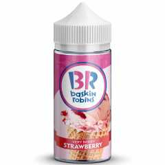 BASKIN ROBINS Клубника 100мл (3мг) - Жидкость для Электронных сигарет