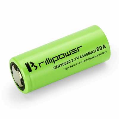 Аккумулятор 26650 Brillipower 4500mAh, 80A