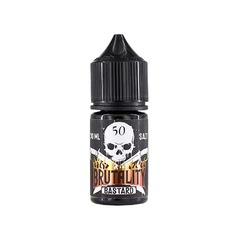 Brutality Medium Salt Bastard 30мл (20) - Жидкость для Электронных сигарет