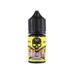 Brutality Medium Salt Gangman 30мл (20) - Жидкость для Электронных сигарет