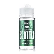 BRWD Seattle Caramel Cappuccino 100мл (3мг) - Жидкость для Электронных сигарет