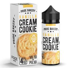 Cream Cookie Vanilla 120ml (0мг) - Жидкость для Электронных сигарет