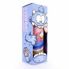 Cake Monster Currant Raspberry 120мл (3мг) - Жидкость для Электронных сигарет