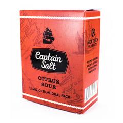 Captain Salt Citrus Sour 60мл (15мг) - Жидкость для Электронных сигарет