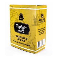 Captain Salt Original Blend 60мл (15мг) - Жидкость для Электронных сигарет