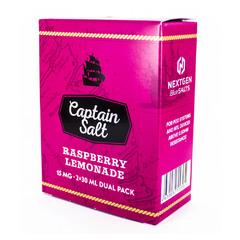 Captain Salt Raspberry Lemonade 60мл (15мг) - Жидкость для Электронных сигарет