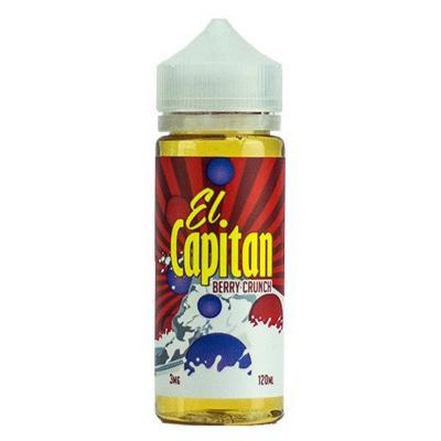 Carter Elixirs El Capitan Berry Crunch 120мл (3) - Жидкость для Электронных сигарет (Clone)